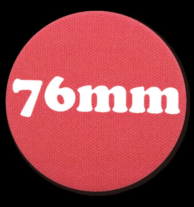 布缶ミラー76mm